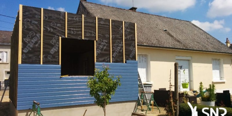 Agrandissement extension maison et construction neuve for Extension maison neuve