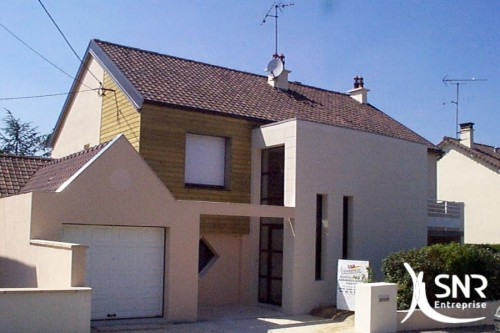Agrandissement extension maison et construction neuve for Extension maison en parpaing
