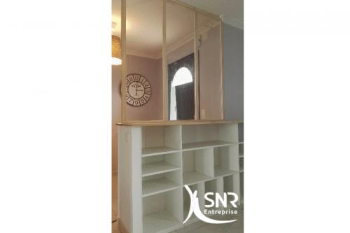 Apportez de la lumière dans votre hall d'entrée en cassant les cloisons et en positionnant une verrière avec SNR Entreprise