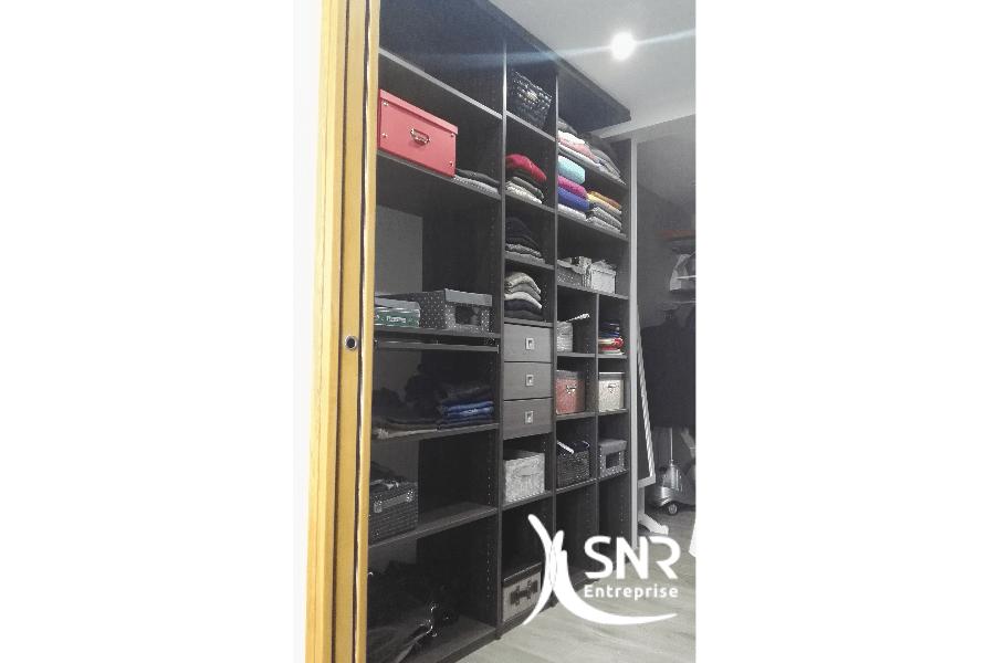 Créez un dressing personnalisé du format jusqu'aux finitions en faisant appel à SNR Entreprise