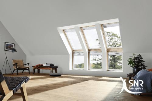 Créez un effet verrière dans votre habitation grâce à la pose Velux par SNR Entreprise
