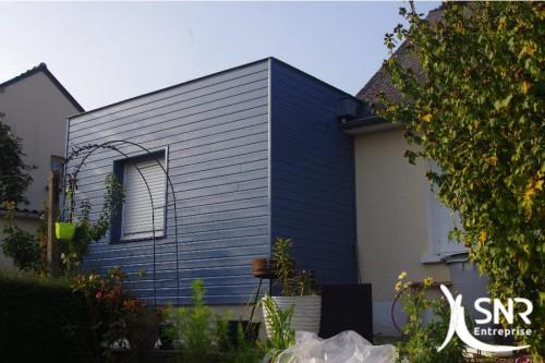 Une toiture terrasse pour mon agrandissement maison mayenne for Extension maison suite parentale