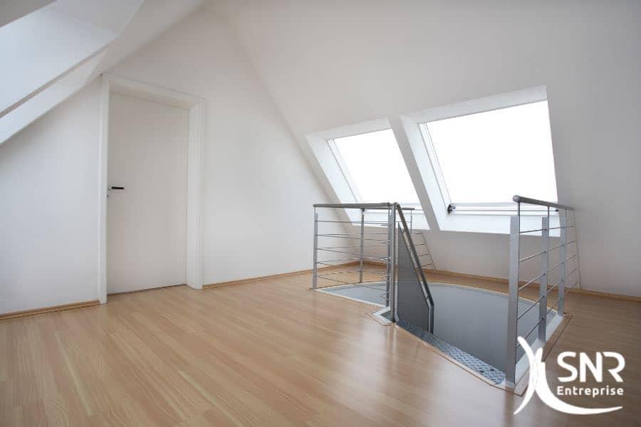 comment utiliser ses combles pour cr er une mezzanine. Black Bedroom Furniture Sets. Home Design Ideas