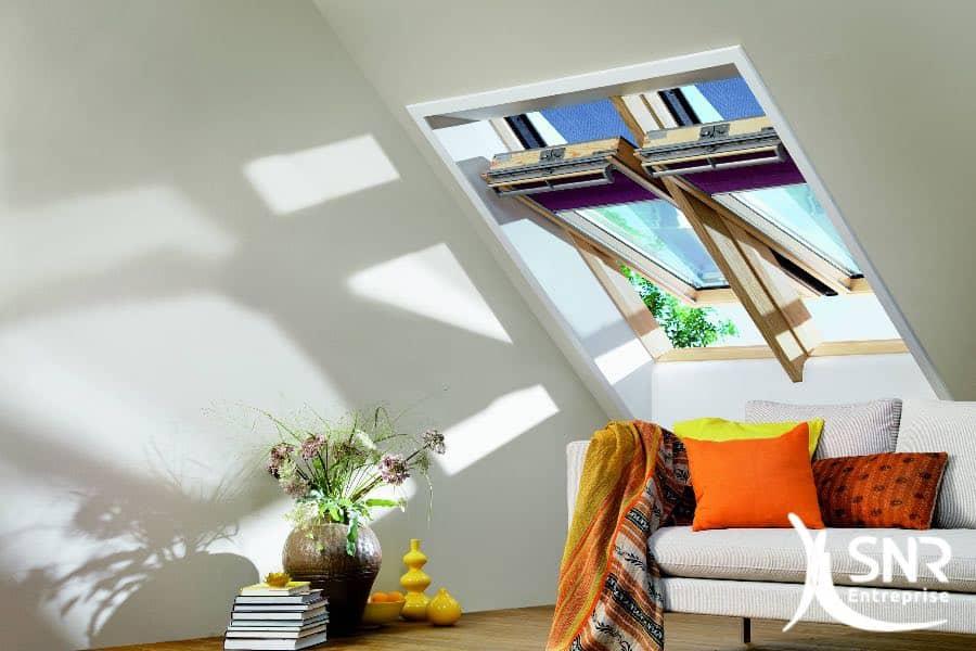 Rénover maison et pose de Velux par SNR Entreprise. Aménagement intérieur design et pose de parquet stratifié à Laval, Rennes et Saint-Malo.