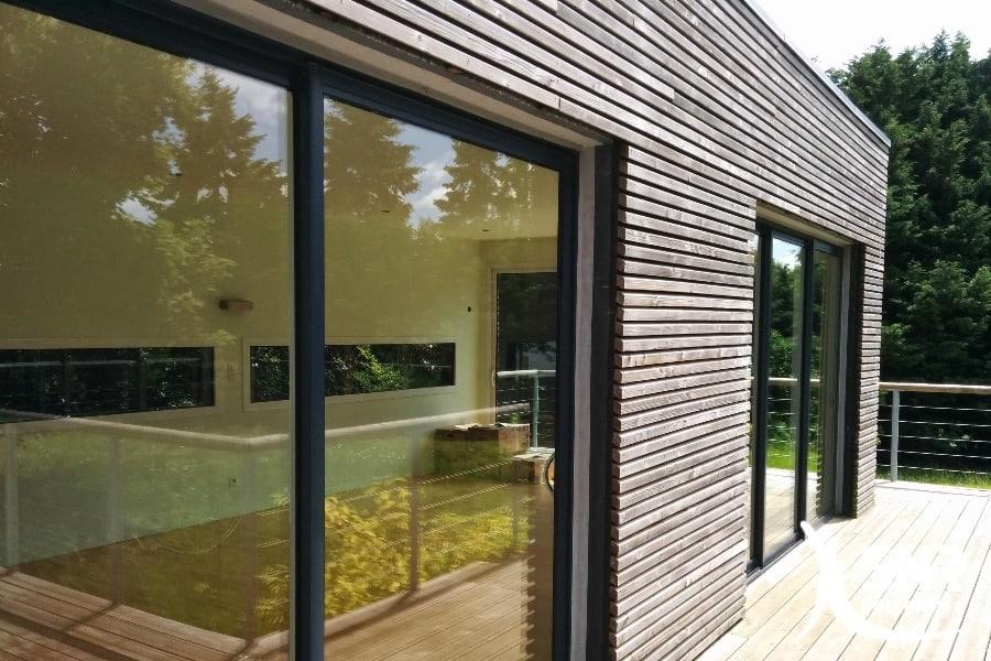 Extension en bois r gles et avantages avec snr entreprise for Agrandissement en bois maison