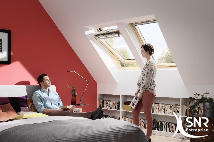 Spécialiste de l'aménagement de combles, SNR Entreprise l'est aussi pour vos projets de rénovation de maison.