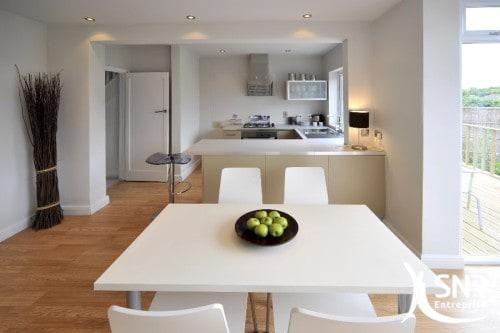 Rénovation appartement à Laval et Rennes. Pose de spots, puits de lumière, etc.