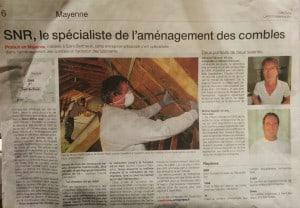 SNR Entreprise est le spécialiste de l'amélioration d'habitat et de l'aménagement de combles depuis plus de 30 ans, de Laval à Saint-Malo, en passant par Rennes et Mayenne.