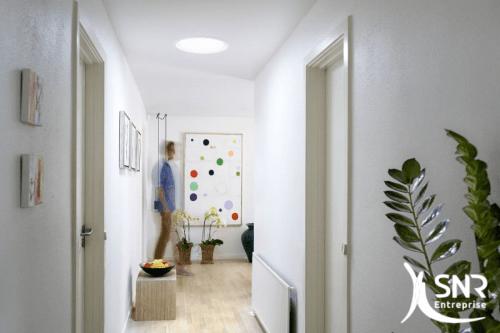 renovation maison clairer une pi ce aveugle avec un conduit de lumi re avec snr entreprise. Black Bedroom Furniture Sets. Home Design Ideas
