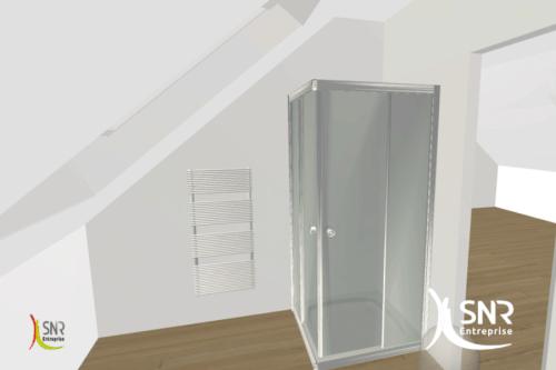 aménagement de combles SNR Entreprise réalité virtuelle 3D Laval Rennes Saint-Malo