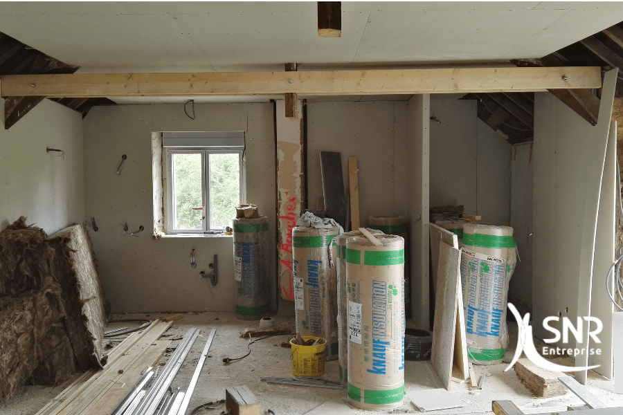 Rénovation maison saint-malo avec SNR Entreprise professionnel RGE Mayenne Ille et Vilaine 53 35
