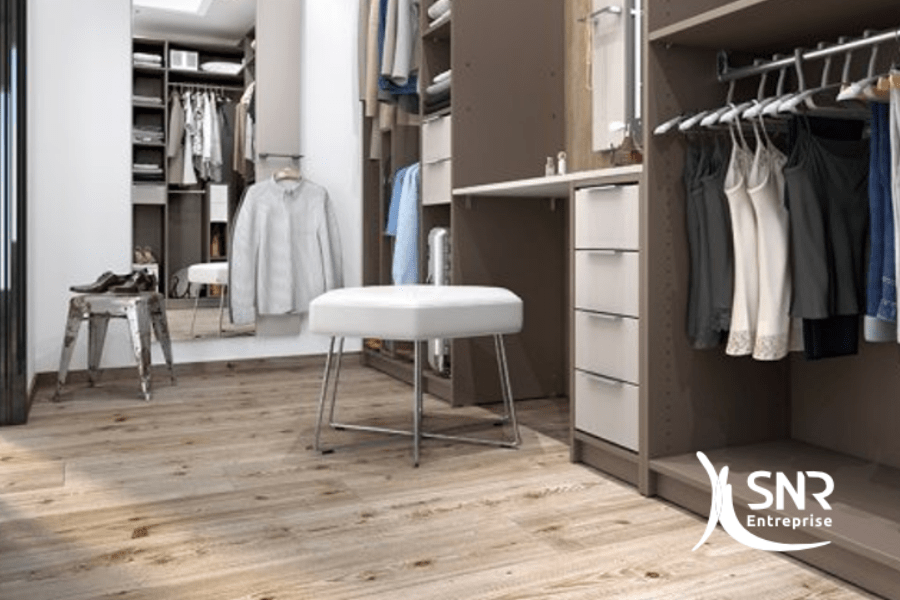 cr er un dressing dans des combles am nag s. Black Bedroom Furniture Sets. Home Design Ideas