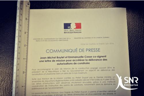 Agrandissement maison saint-malo lettre de mission gouvernement SNR Entreprise laval rennes saint-malo