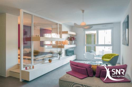 renovation maison rennes utiliser des cloisons amovibles avec snr entreprise. Black Bedroom Furniture Sets. Home Design Ideas