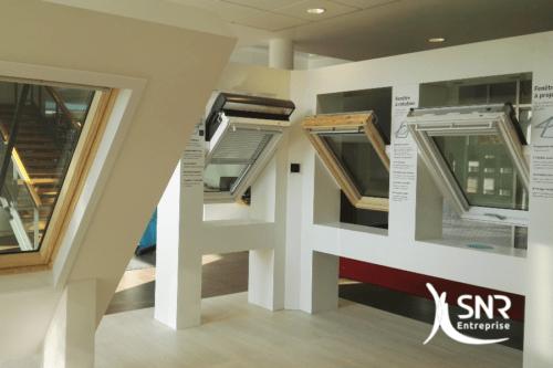 pose velux snr entreprise renouvelle la plus haute certification. Black Bedroom Furniture Sets. Home Design Ideas