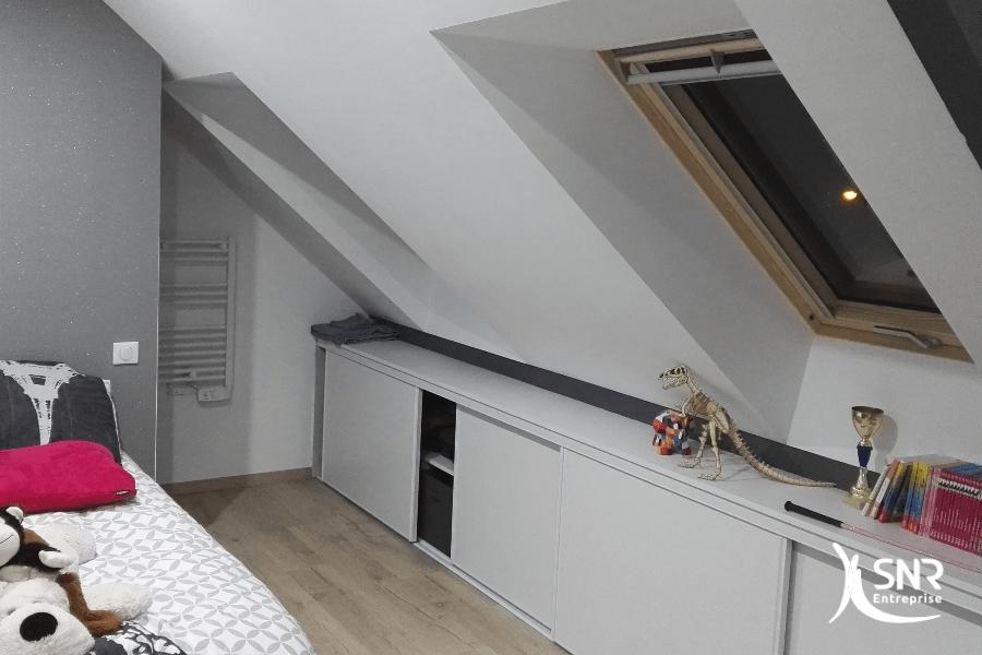Aménagement de combles laval et création de placards en Mayenne et en Ille-et-Vilaine