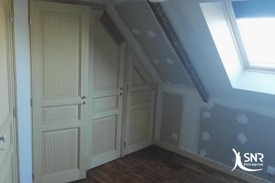 Travaux renovation et amenagement de combles - departement 35 (ille ...