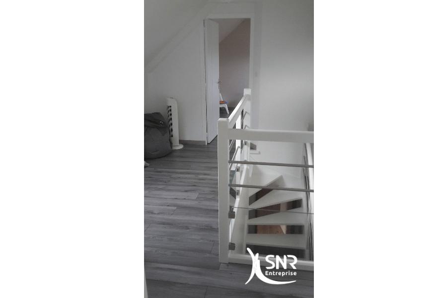 Aménager les combles avec SNR Entreprise spécialiste travaux de renovation maison saint-malo