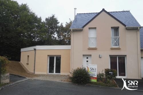 Création d un agrandissement maison saint-malo en maçonnerie par SNR Entreprise