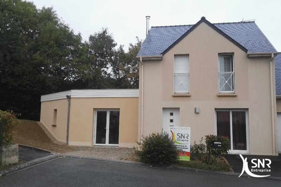 travaux agrandissement de maison bois departement 53