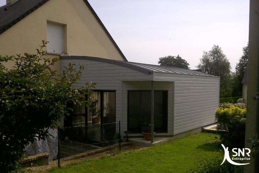 Travaux agrandissement de maison bois departement 35 for Entreprise extension maison yvelines