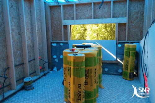 Réalisation d une extension maison en bois par SNR Entreprise