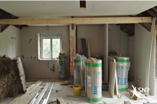 Renovation maison saint-malo remise à neuf d une longère en Ille-et-Vilaine par SNR Entreprise