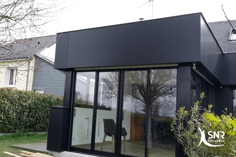 SNR Entreprise réalise tous vos projets d extension maison en bois en Mayenne 53 et en Ille-et-Vilaine 35