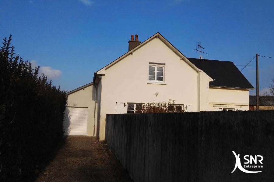 Projet d extension maison best extension de maison ralise for Extension maison osb