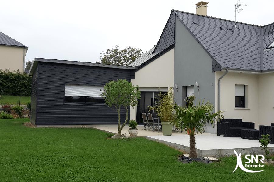 SNR Entreprise spécialiste de la réalisation de projet d extension maison en bois en Mayenne et en Ille et Vilaine