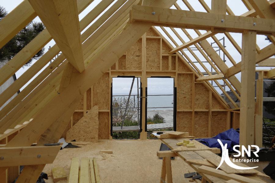 Agrandissement maison laval climatologues pl biscitent le bois - Maison s par domenack arquitectos ...