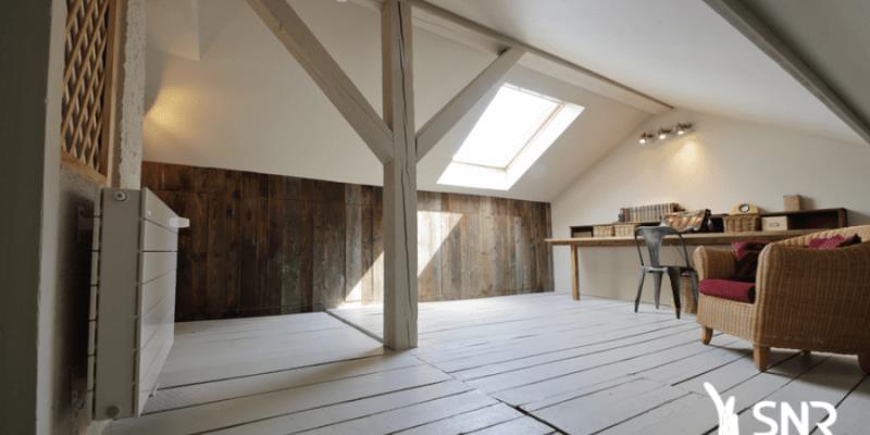 Valorisez votre patrimoine immobilier en aménageant votre grenier avec SNR Entreprise spécialiste des combles aménagés
