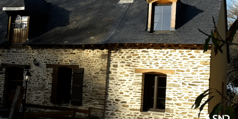 Carnet de chantiers 8 agrandissement maison saint malo for Agrandissement maison 53