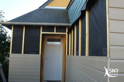 Renovation garage en chambre avec aménagement de combles avec SNR ...
