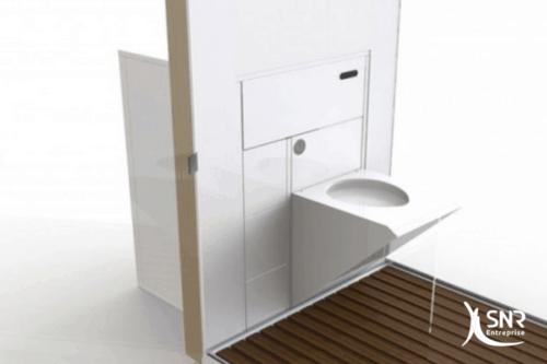 Un nouveau type de WC encastrable pour votre projet de rénovation maison rennes