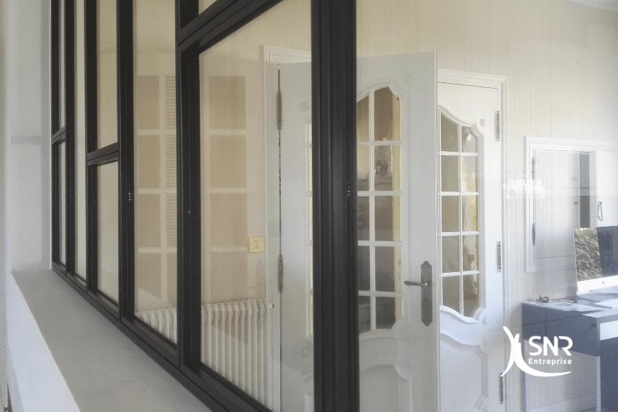 r novation comment installer une verri re dans sa cuisine. Black Bedroom Furniture Sets. Home Design Ideas