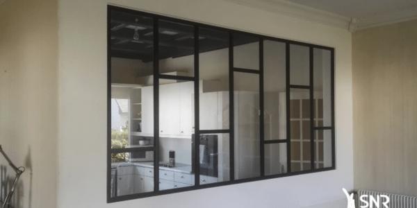Installer une verrière dans le cadre d'un projet de rénovation maison laval avec SNR Entreprise