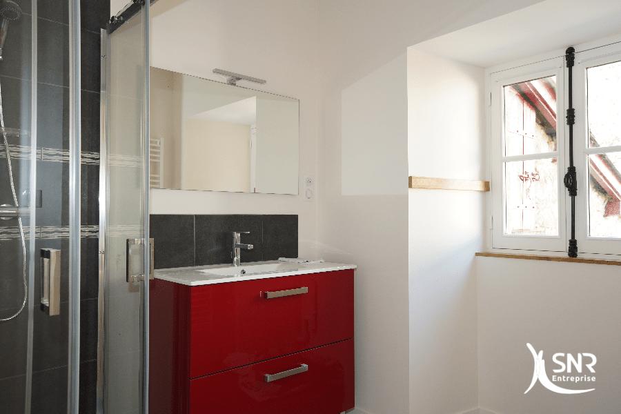 Rénovation salle de bains saint-malo par SNR Entreprise professionnel de vos projets de travaux