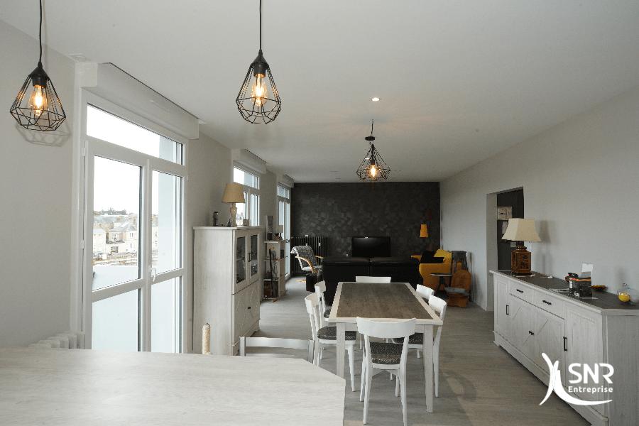 Du sol au plafond SNR Entreprise conçoit et réalise votre projet de renovation maison mayenne