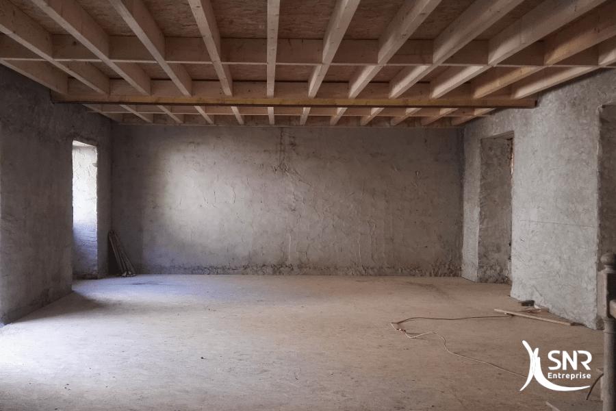 Enduit à la chaux et isolation des murs par SNR Entreprise spécialiste RGE isolation maison laval