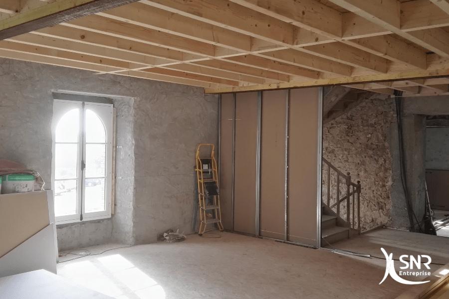 Remplacement de fenêtres et crédit d'impôts avec professionnel RGE SNR Entreprise rénovation maison vitré