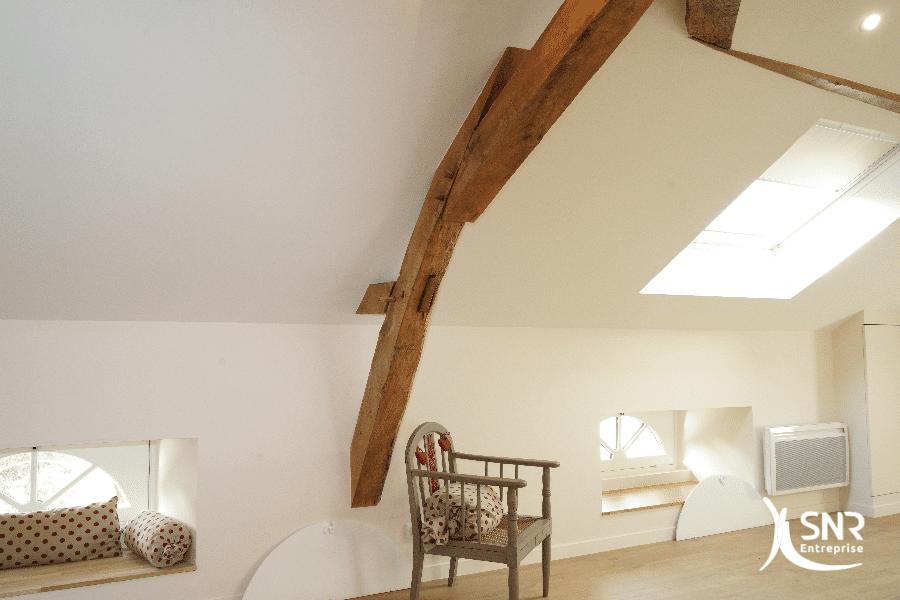 Création-de-logements-sous-les-combles-aménagés-vitré-par-SNR-Entreprise