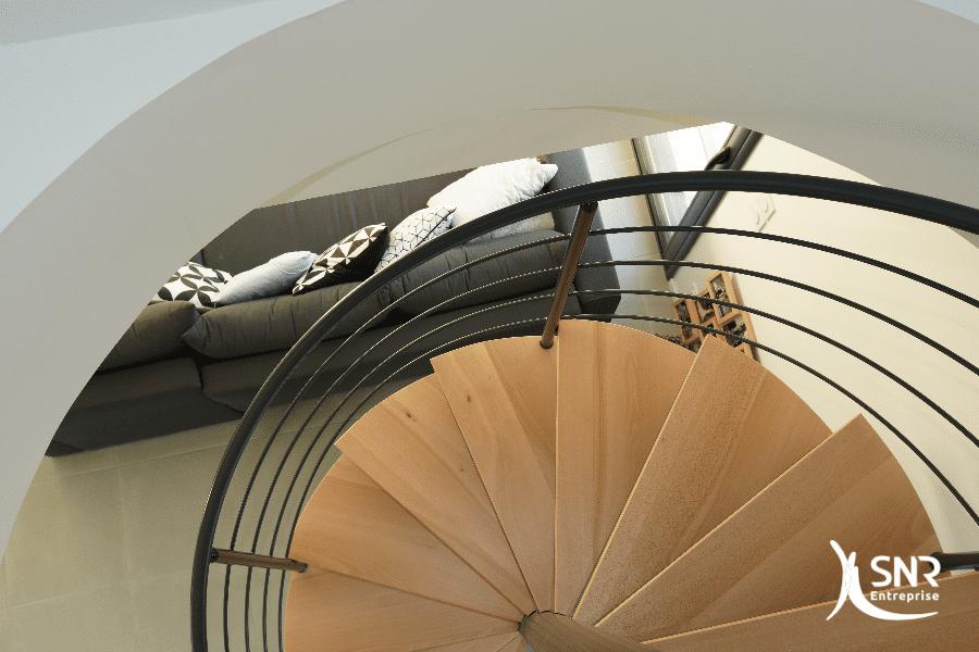Farication-et-mise-en-place-dun-escalier-bois-métal-sur-mesure-pour-combles-aménagés-laval