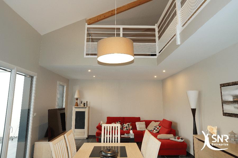 Modernisation d'un pavillon par SNR Entreprise professionnel de la renovation maison saint-malo