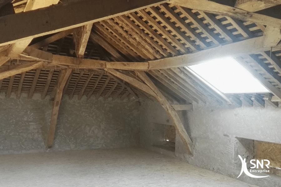 Photo-travaux-en-cours-de-réalisation-rénovation-appartement-rennes-par-SNR-Entreprise-certifié-RGE