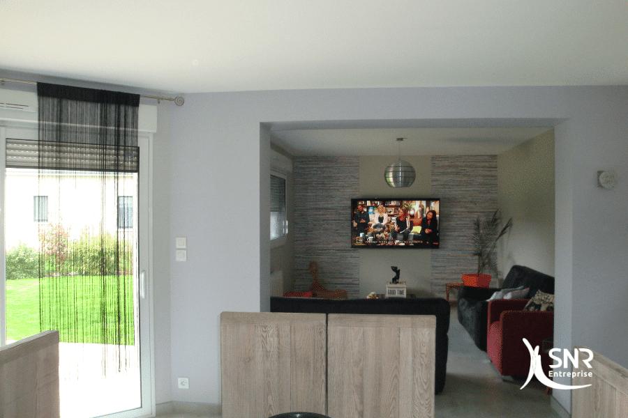 Réalisation-d-un-agrandissement-maison-bois-saint-malo-par-SNR-Entreprise-avec-toiture-zinc-monopente