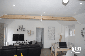 Remise à neuf d une longère par SNR Entreprise pour un projet clé en main de rénovation maison vitré