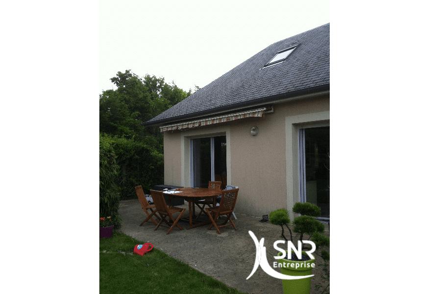 Vue-avant-réalisation-de-travaux-d-agrandissement-maison-laval-en-ossature-bois-par-SNR-Entreprise